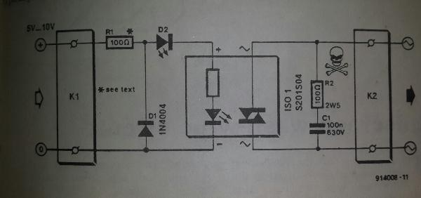 Solid State Relay Circuits Diagrams Solid State Relay Circuit 2014