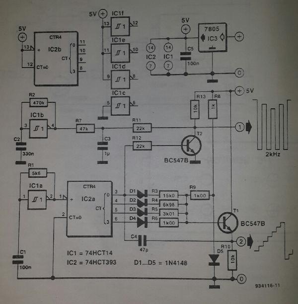 Ramp Generator Circuit Diagram Tradeoficcom