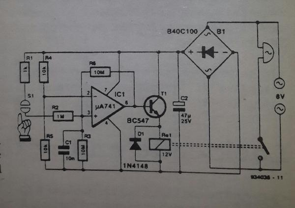 Sequential Sound Activated Switches Circuit Diagram