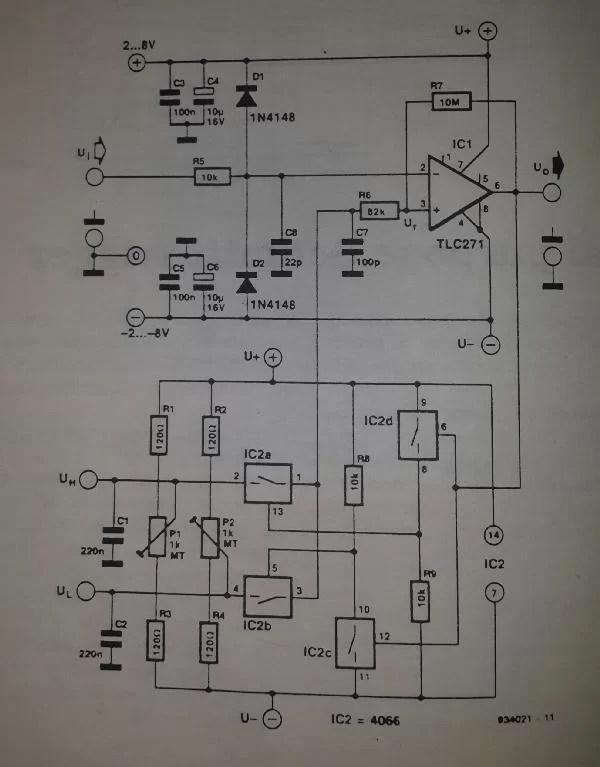Digital Frequency Comparator Circuit Diagram Super Circuit Diagram