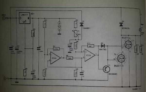 Lamp Circuit Diagram