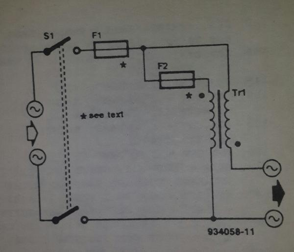 Schematics Of Delabs Mains Current Indicator With A Led