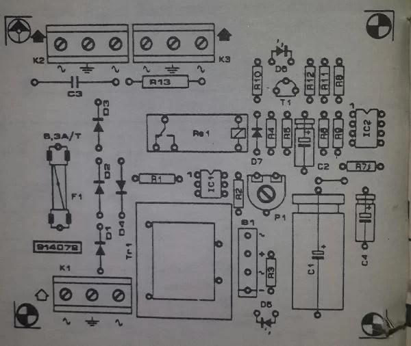 Mains Operated Led Circuit Diagram Electronicshuborg