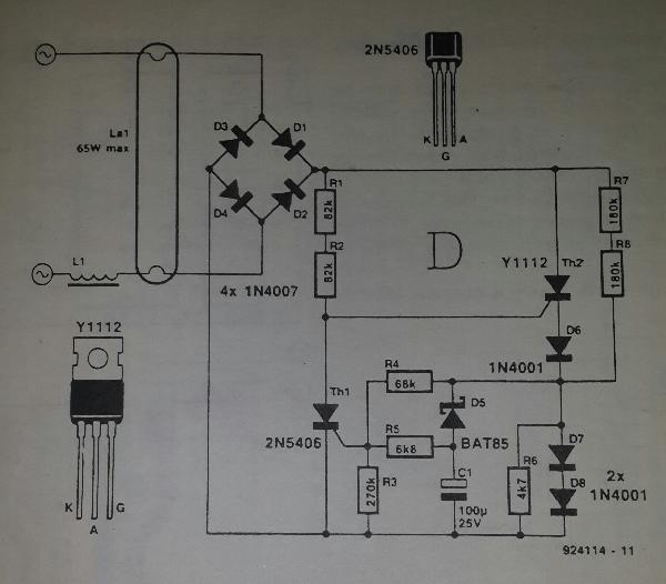 Wiringlight On Fluorescent Light Wiring Diagram Tube Light Circuit