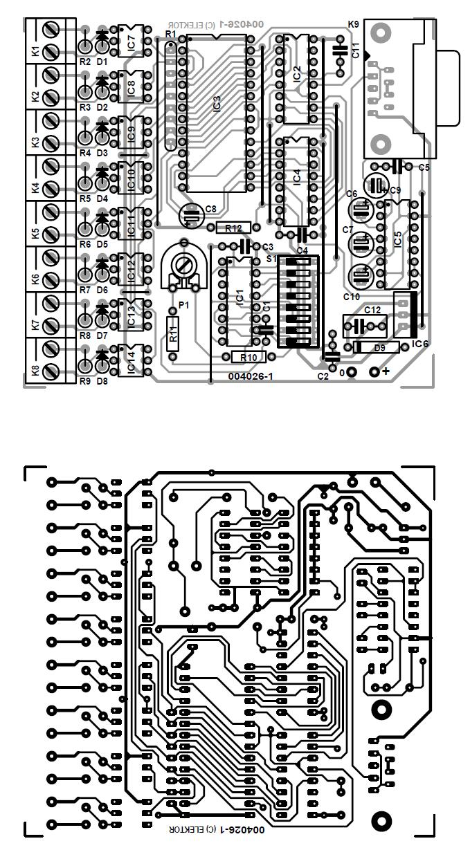 medium resolution of 8 channel d i card for rs232 schematic circuit diagram rs232 cable wiring rs232 wiring diagram ls