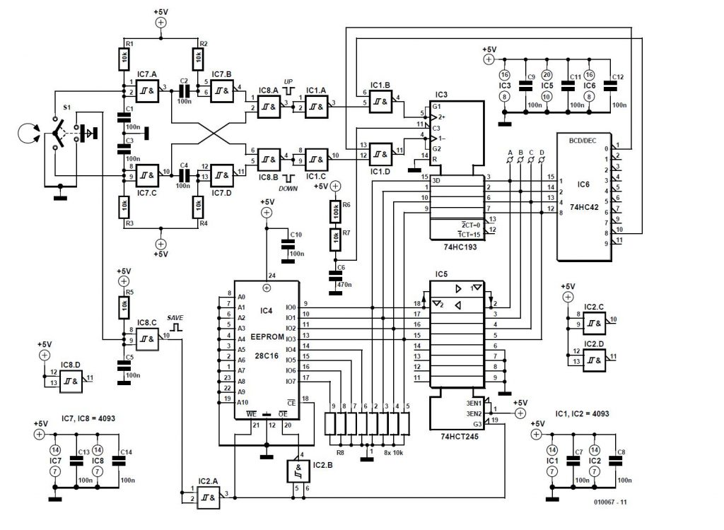 3-dB Chebyshev Filter/Amplifier Schematic Circuit Diagram