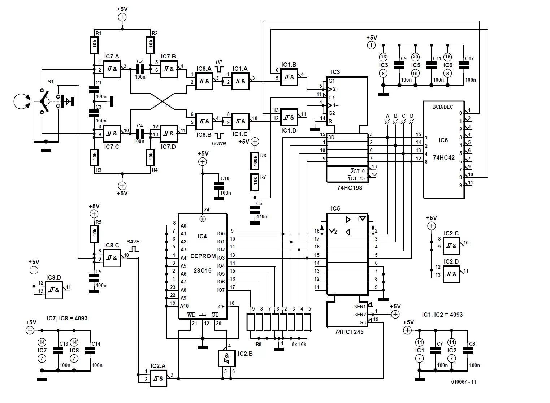 Audio Input Selector Schematic Circuit Diagram
