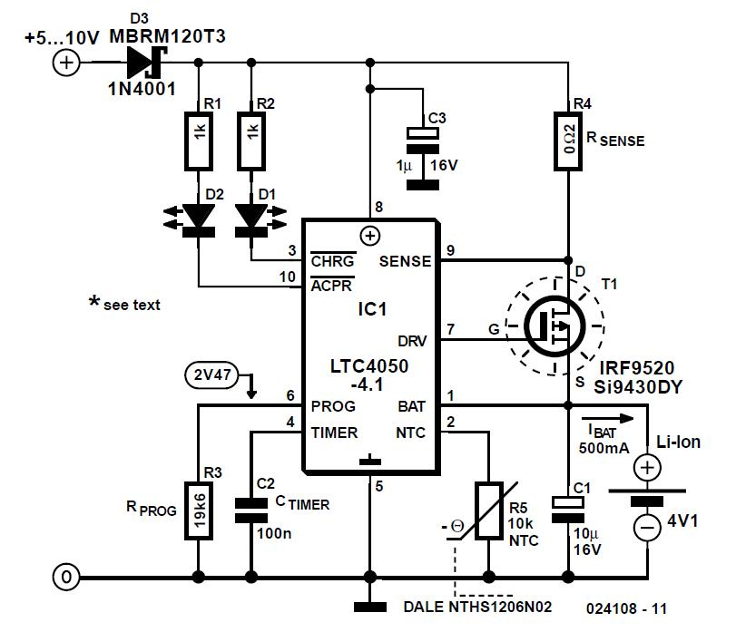 intercom circuit schematic
