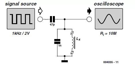 Measuring Inductors Schematic Circuit Diagram