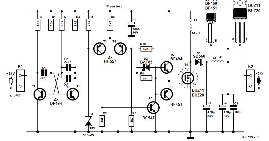 12v 24v battery charger circuit diagram