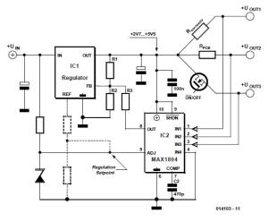 Ammeter Schematic Circuit Diagram