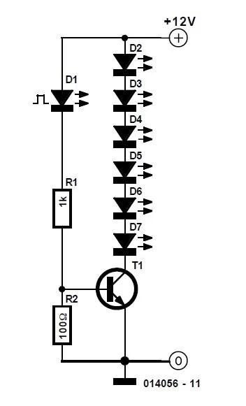 Fairy Lights Schematic Circuit Diagram