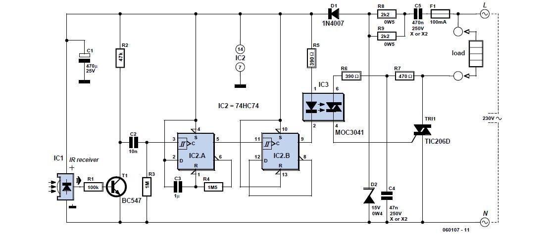 REMOTE CONTROL SCHEMATIC DIAGRAM - Auto Electrical Wiring ...