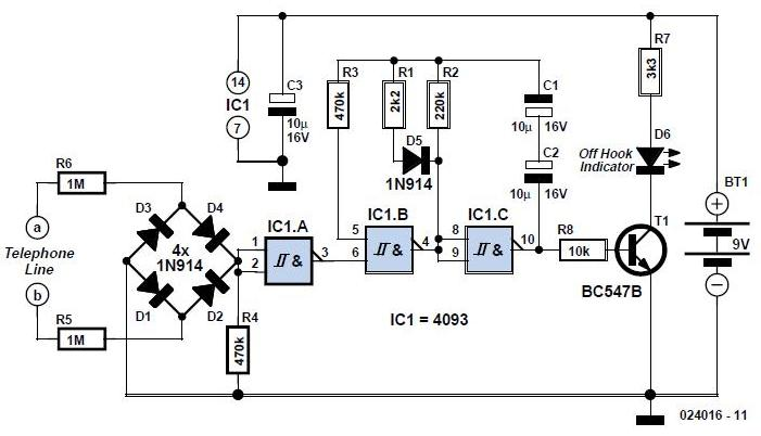Improved DECT Battery Charger Schematic Circuit Diagram