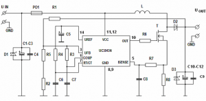 12V 19V DC TO DC CONVERTER FOR LAPTOP UC3843D SCHEMATIC