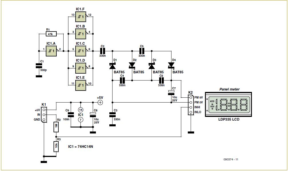 Remote-controlled Preamp with Digital Pot Schematic