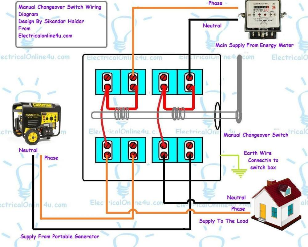 medium resolution of electrical generator wiring diagram