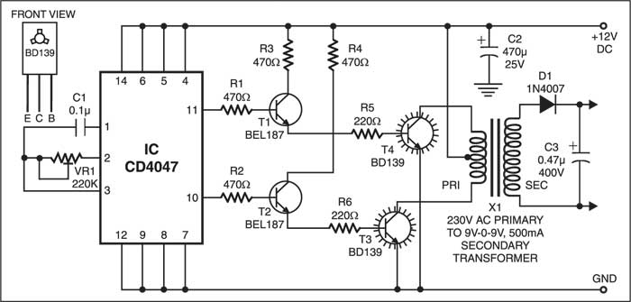 TP4056 Micro-USB Battery Charger Circuit Diagram