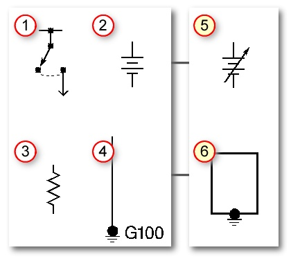 Automotive Wiring Diagram Symbols- conventional symbols