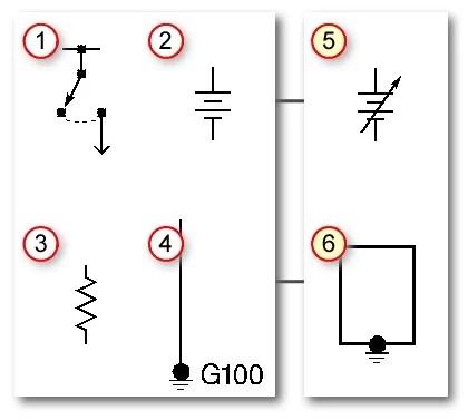 Automotive Wiring Diagram Symbols- conventional symbols