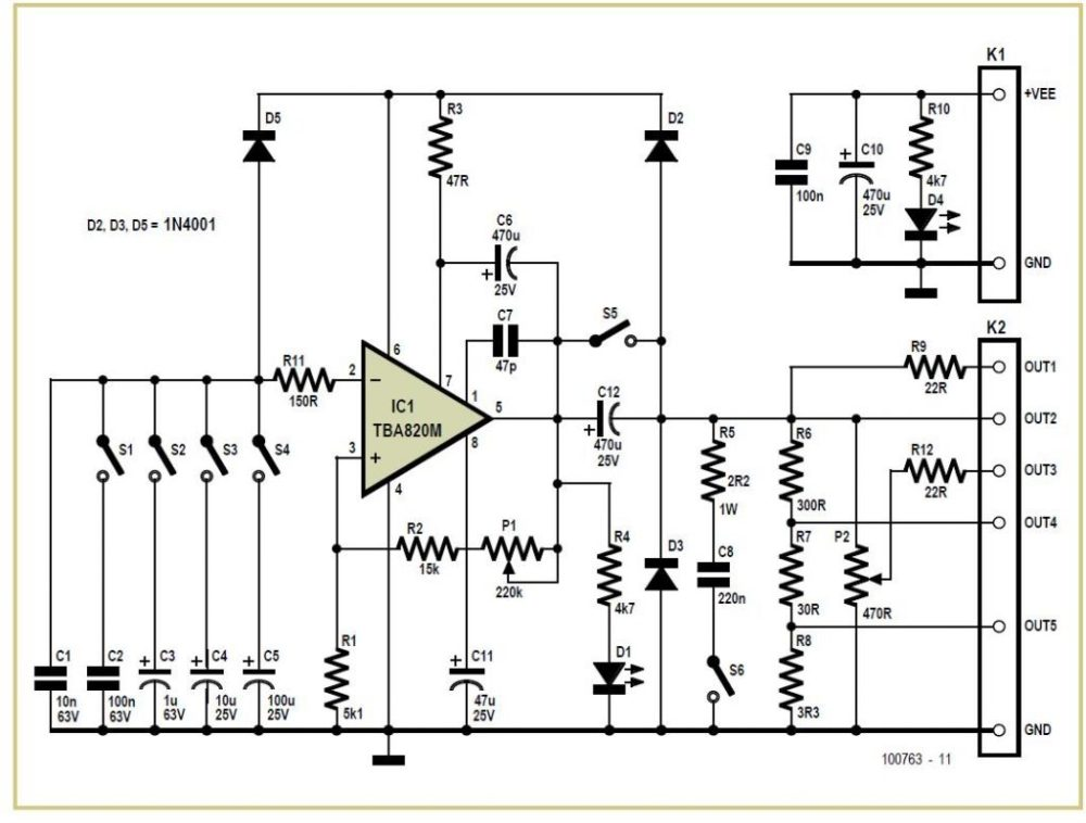 medium resolution of simple low cost square wave generator tester schematic circuit diagram