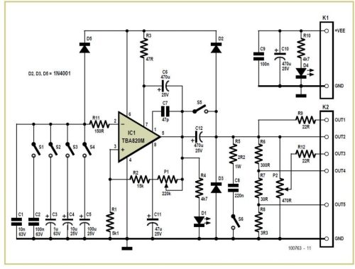 small resolution of simple low cost square wave generator tester schematic circuit diagram