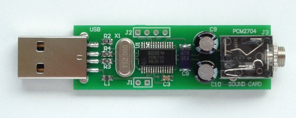 medium resolution of make a sound card with pcm2704