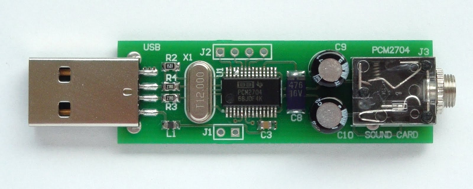 hight resolution of make a sound card with pcm2704