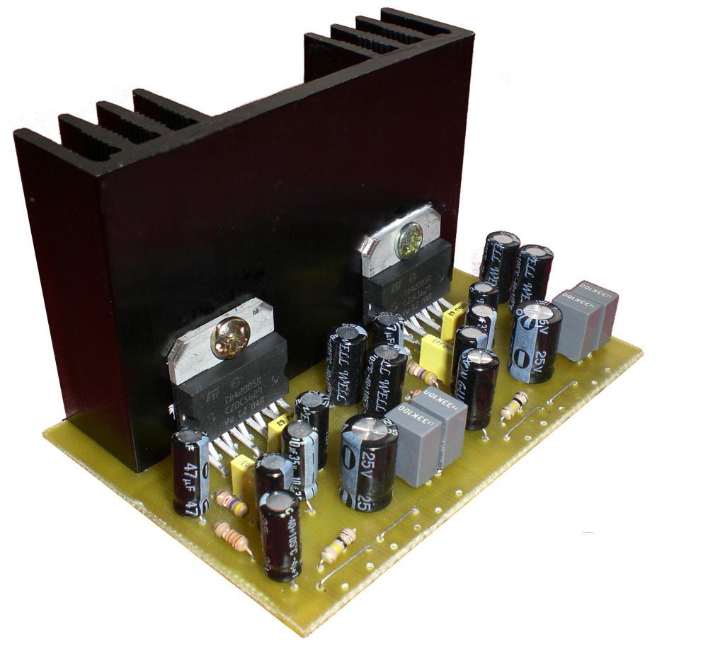 20 Watt Stereo Amplifier With Tda2005 20w Tda2005 Stereo Amplifier