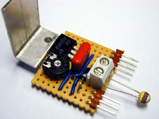 Automatic Temperature Controlled Fan Circuit Using Thermistor