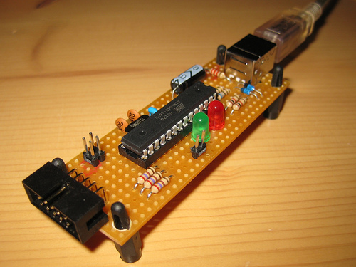 Atmel Programmer Circuit