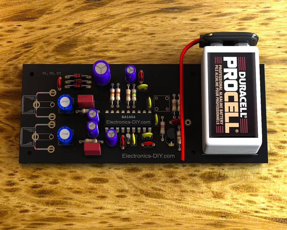 medium resolution of stereo fm transmitter with ba1404