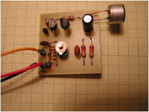Radio Circuits Blog Building A Very Simple Am Voice Transmitter