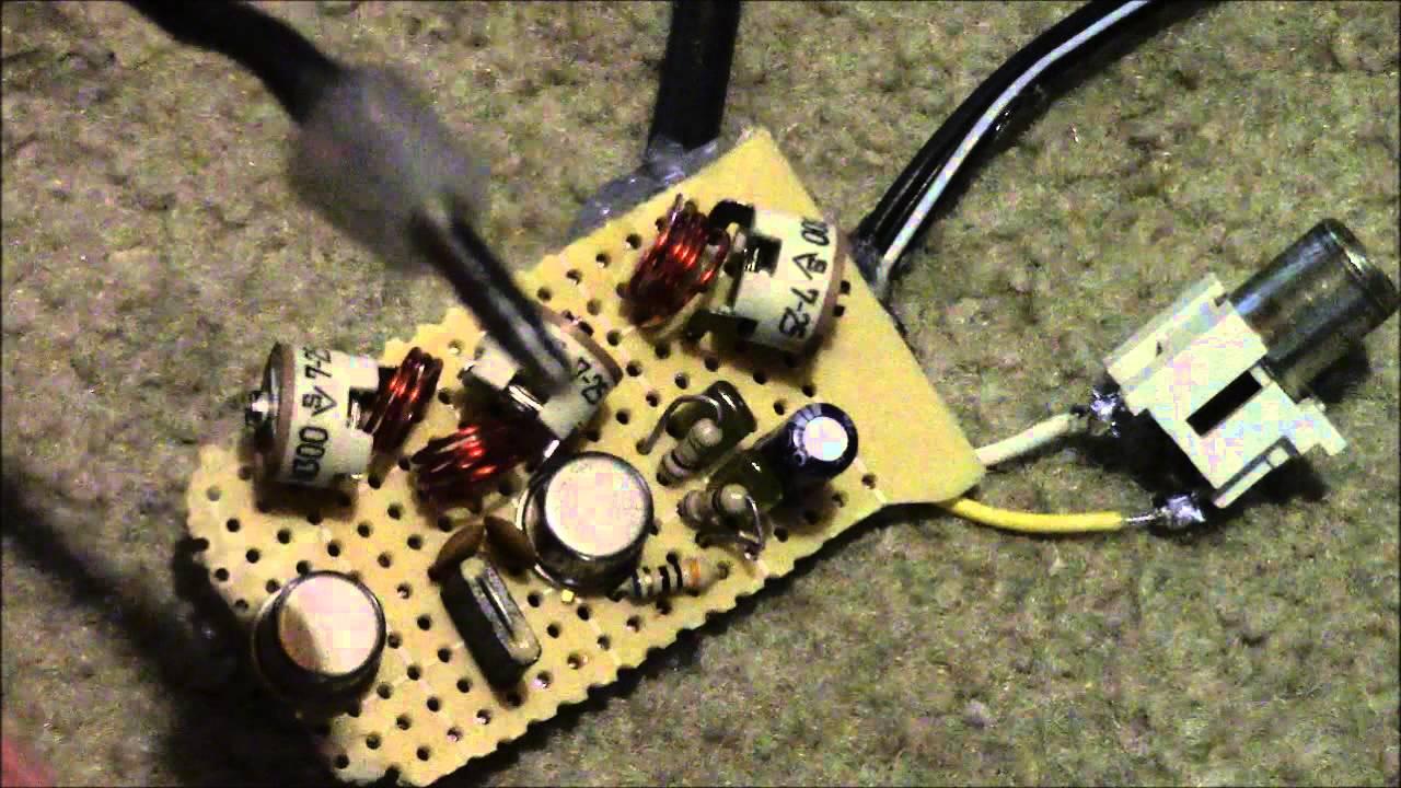 3w Fm Transmitter Circuit