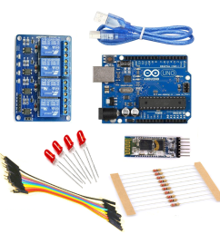 home automation kit using bluetooth pack  [ 1000 x 1000 Pixel ]
