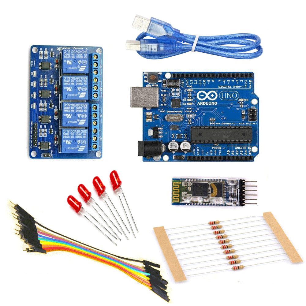 medium resolution of  home automation kit using bluetooth pack