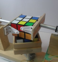 cube solver in action [ 1200 x 900 Pixel ]