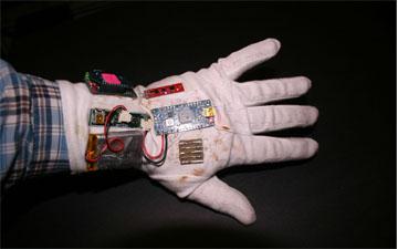 Top of glove