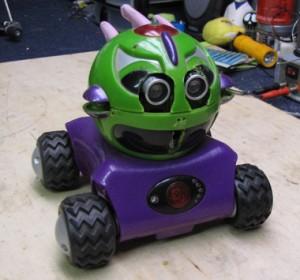 Rumble robot