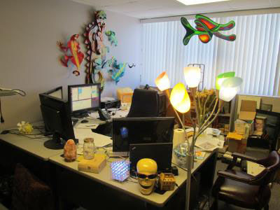 Welcome to the Pleasure Dome (Max's office)