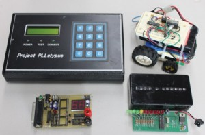 While studying at the University of Calgary, some of Jason's first embedded designs included a programmable phase-locked loop project, a robot built for an IEEE Micromouse competition, an MPG dev board, and a binary clock.