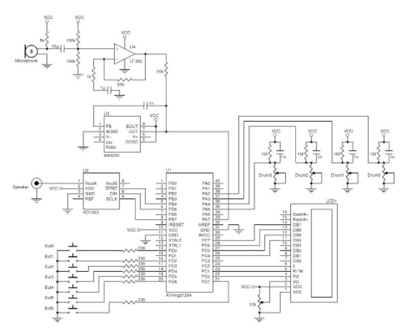 Figure 2  Full circuit schematic