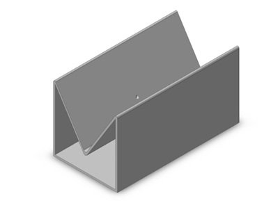 Figure 5 Isometric view of the enclosure