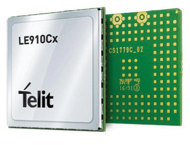 Figure 10 Cellular IoT is very well suited to smart agriculture networking. The LE910Cx series of 4G LTE modules are compliant with the 3GPP Release 10 and are available with optional quad- constellation GNSS capability.