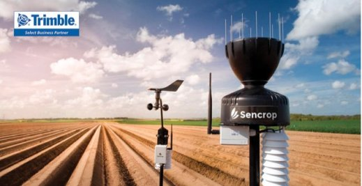 Figure 3 Raincrop, a connected rain gauge, provides real-time weather updates straight from farmers' fields. With Sencrop's mobile app, users can collect and analyze data from their stations and from other stations around them.