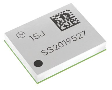Figure 8 The Type 1SJ is a LoRaWAN modem solution. The AT-command controlled modem module version measures only a tiny 10.0mm × 8.0mm × 1.6mm.
