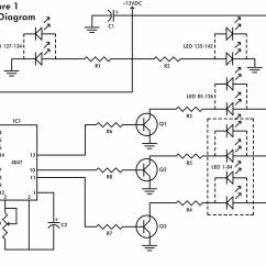 Led Wiring Diagram 9v Kubota B7100 Flashing Heart Schematic Design