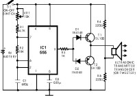 Ultrasonic transmitter - switch