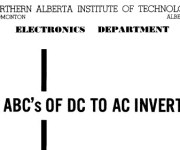 Basic Theory of DC to AC Inverters