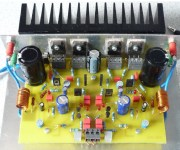 70W High Power Amplifier with MOSFET